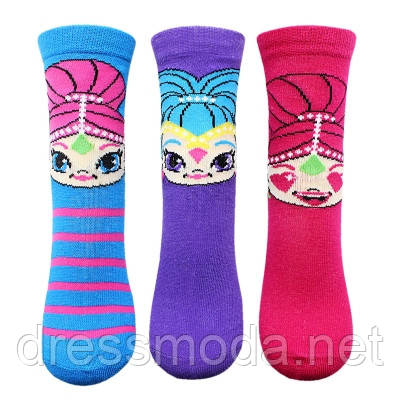 Носки для девочек Shimmer Shine 23-34р.р