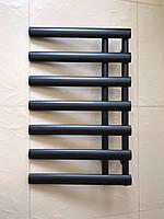 Черный матовый полотенцесушитель NICE 7/780S 780*500