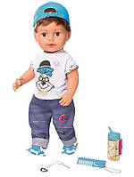 Кукла Baby Born Стильный Братик Нежные объятия 43 см Zapf 826911