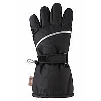 Черные перчатки Harald размеры 5;6;8 зима для мальчиков TM Reima 527293-9990