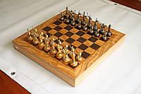 Шахматы Manopoulos Оливковый совет и троянская война SEK4