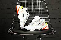 Мужские/женские спортивные кроссовки, чоловічі кросівки Nike M2K Tekno Pure Platinum Black-Sail White, Реплика