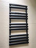 Чорний матовий полотенцесушитель MIRAMAR 12/1130 S 1130*545