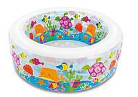 """Детский надувной бассейн """"Аквариум"""" 58480 (152*56 см)"""