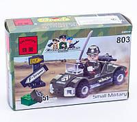 """Конструктор Brick 803 """"Военная машинка"""" 51 деталь"""