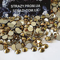 Стразы Lux ss16 Gold (4.0mm) 100шт