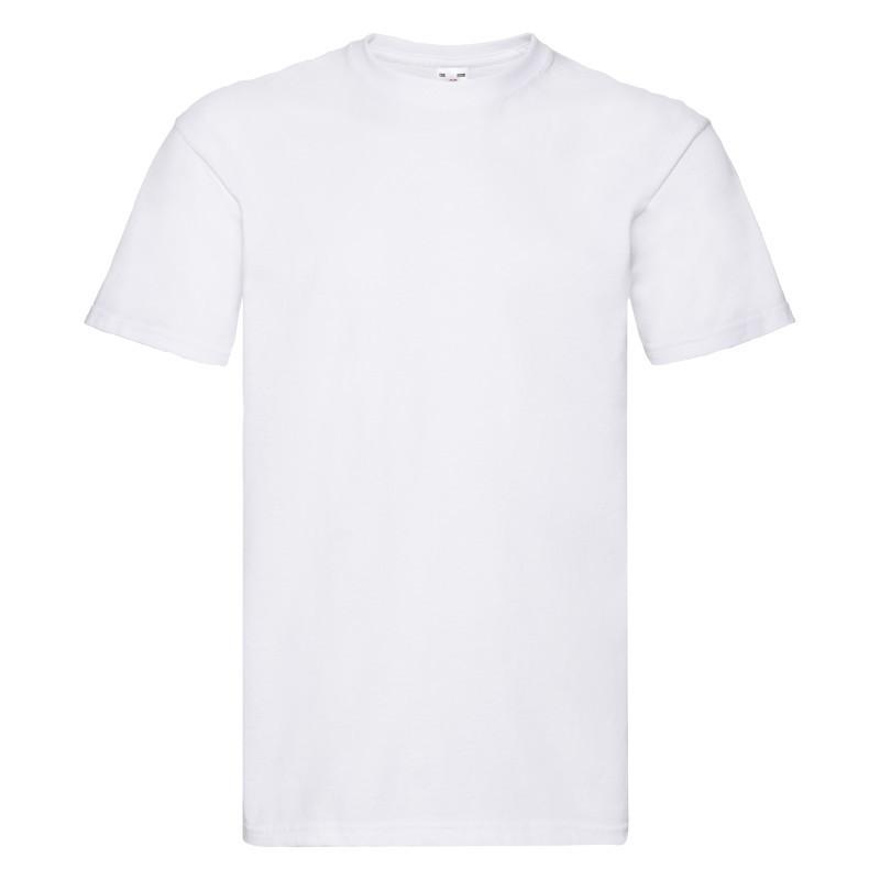 Мужская футболка Super Premium T (Цвет: Белый; Размер: 2XL)