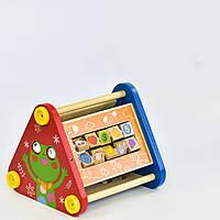 """Деревянная обучающая игра """"Пирамидка"""" C 30385"""