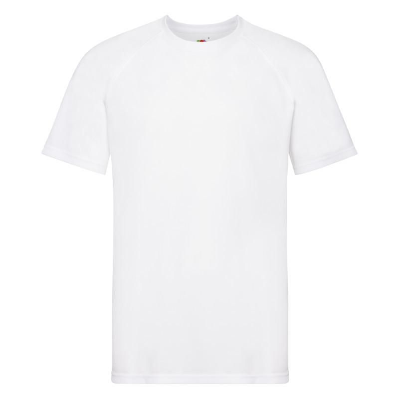 Мужская футболка Performance T (Цвет: Белый; Размер: 2XL)
