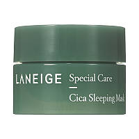 Laneige Cica Sleeping Mask Ночная маска для лица миниатюара 10 мл