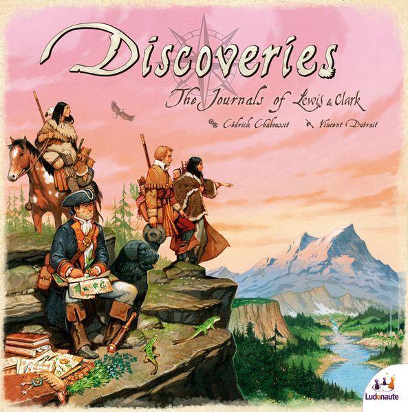 Настольная игра Discoveries: The Journals of Lewis & Clark (Открытия: Дневники Льюиса и Кларка)