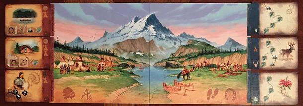 Настольная игра Discoveries: The Journals of Lewis & Clark (Открытия: Дневники Льюиса и Кларка), фото 2