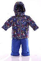 Зимний костюм Ноль Евро с красной звездой