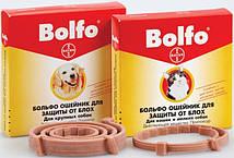 Ошейник антиблошиный  BOLFO  для собак  66 см.