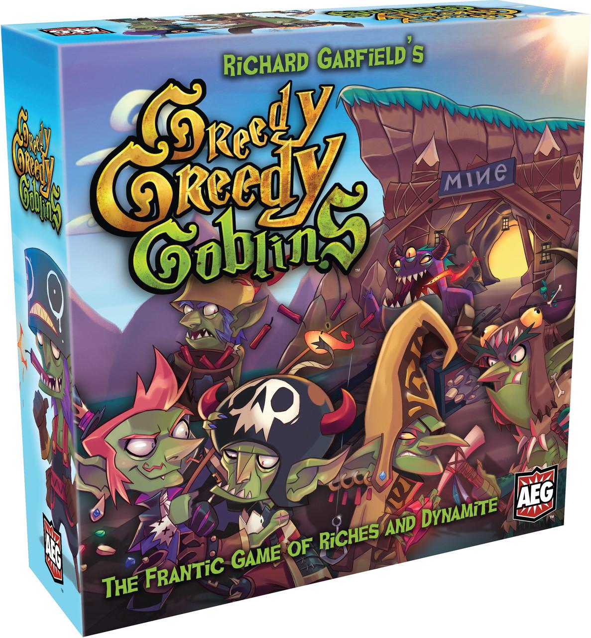 Настольная игра Greedy, Greedy Goblins eng.