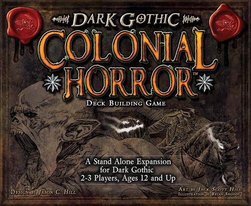 Настольная игра A Touch of Evil: Dark Gothic — Colonial Horror
