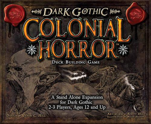 Настольная игра A Touch of Evil: Dark Gothic — Colonial Horror, фото 2