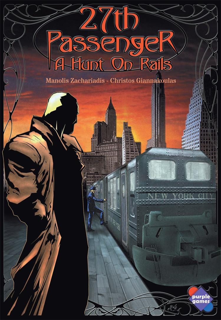 Настольная игра 27th Passenger: A Hunt On Rails (27-й пассажир: Охота на рельсах) eng.