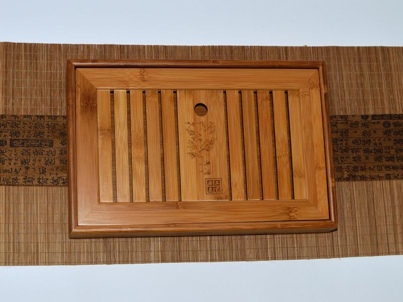 Чабань. Чайный столик. Доска для чайной церемонии. 345х225х65 мм