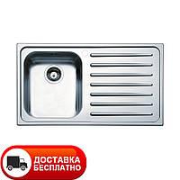 Кухонная мойка Apell Venezia VE861IRBC RIGHT brushed 86*50