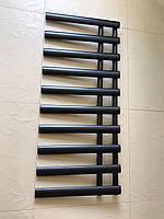 Черный матовый полотенцесушитель NICE 10/1140 S 1140*500, фото 1