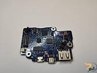 Додаткова плата, USB, Mini-HDMI, Port, Board, для ноутбука Samsung NP900X3D, BA92-09418A. В хорошому стані.