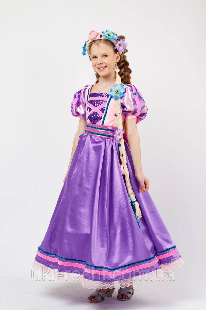 Принцесса «Рапунцель» карнавальный костюм для девочки