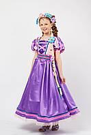 Принцесса «Рапунцель» карнавальный костюм для девочки, фото 1