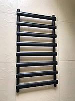 Черный матовый полотенцесушитель MENTON 8/992 S 990*545, фото 1