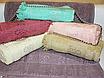 Банные турецкие полотенца Цветок - Бахрома, фото 3