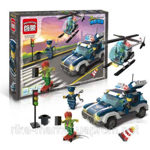 """Конструктор Brick City Series 1117 """"Преследование на шоссе"""" 393 детали"""