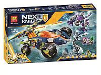 """Конструктор Bela 10704 Nexo Knight (аналог Lego 70355) """"Вездеход Аарона 4x4"""", 614 детали"""