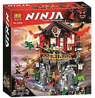 Конструктор Ninja Bela 10806 (аналог Lego Ninjago 70643) Храм воскресения, 809 деталей