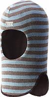 Зимняя шапка-шлем для мальчиков Lassie by Reima Ronel 718774-6121. Размеры 46 - 54., фото 1