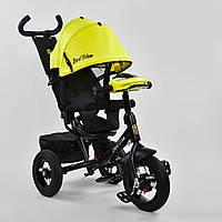 Велосипед Best Trike 7700 В - 7210 поворотное сиденье, надувные колеса, пульт включения света и звука