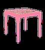 Стол детский Алеана Алфавит украинский Розовый