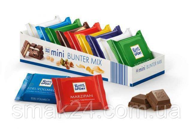 Набор мини-шоколада Ritter Sport Mini Schokospruche 150 г. Германия