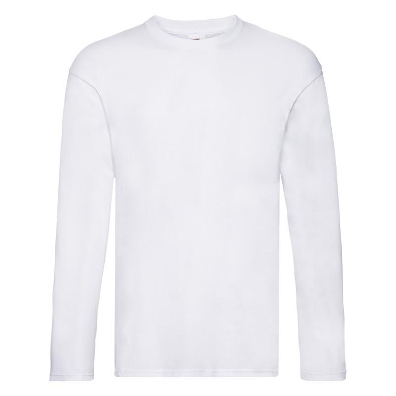 Мужская футболка Original Long Sleeve T (Цвет: Белый; Размер: 2XL)