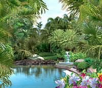 Фотообои на бумажной основе Ника Орхидеи 242х280 см 2000000454719