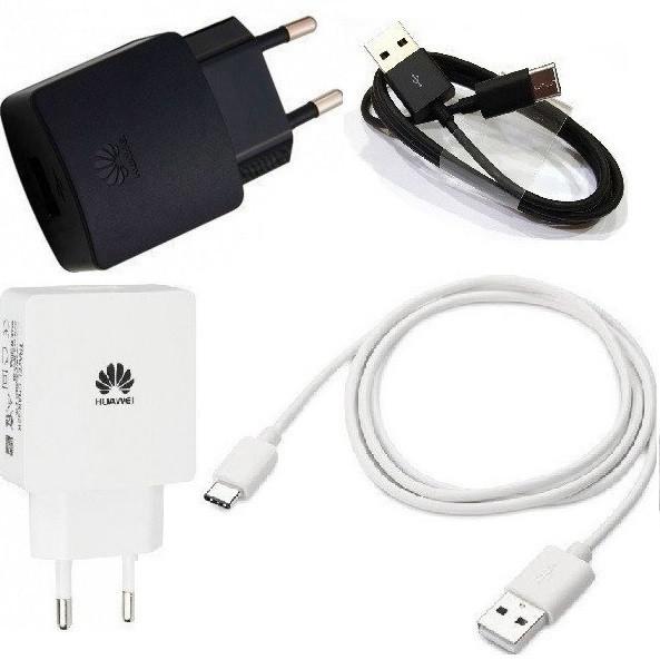 Сетевое зарядное устройство зарядка Huawei (Mate) Type-C 2 в 1 оригинал для