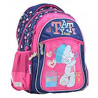Рюкзак шкільний YES S-26 MTY, 37*29*12 см синьо-рожевий 555276, фото 1