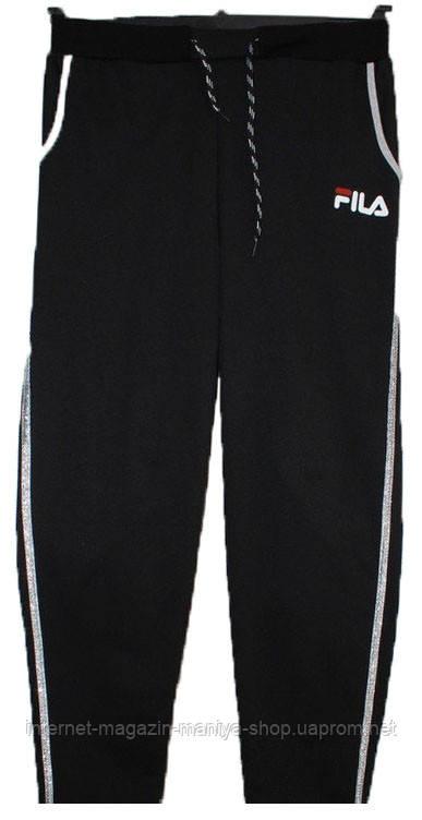 Спортивные штаны женские fila 52-58 батал (деми)