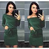 """Платье женское с длинным рукавом из ангоры """"Холли"""".Распродажа, фото 2"""