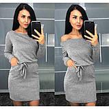 """Платье женское с длинным рукавом из ангоры """"Холли"""".Распродажа, фото 6"""
