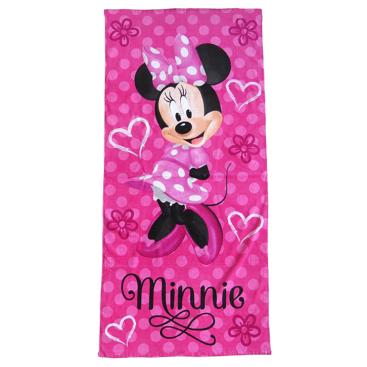 Полотенце Minnie Mouse для девочки, 70х145 см