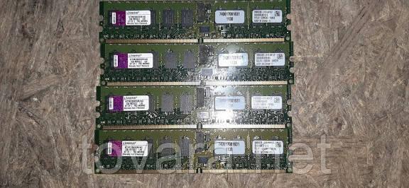 Серверная оперативная память 4шт. Kingston KTM2865SR/4G 4GB DDR2 400 № 9130815