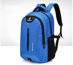 Рюкзак шкільний JUMAHE унісекс чорний, фото 3