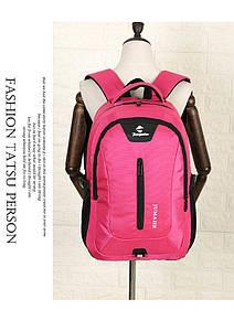 Рюкзак школьный JUMAHE унисекс Розовый
