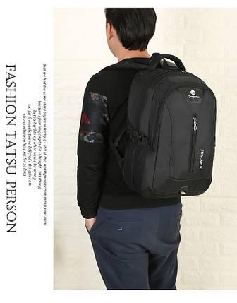 Рюкзак шкільний JUMAHE унісекс чорний, фото 2
