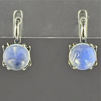Набор Серьги и кольцо Лунный камень, фото 1